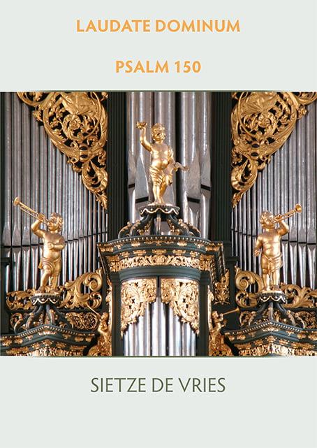 Sietze de Vries omslag Psalm 150