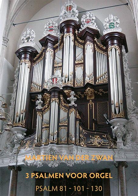Martien van der Zwan omslag 3 Psalmen