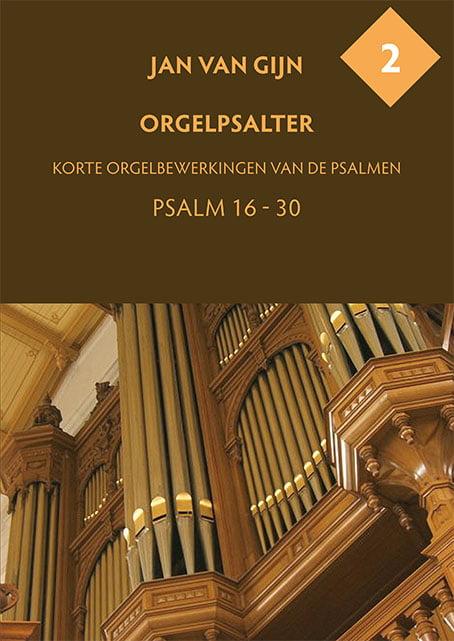 Jan van Gijn Orgelpsalter 2 Omslag