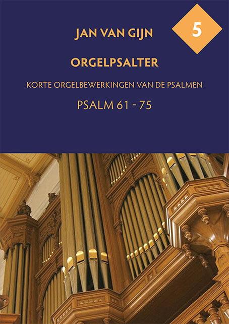 Jan van Gijn Orgelpsalter 5 Omslag