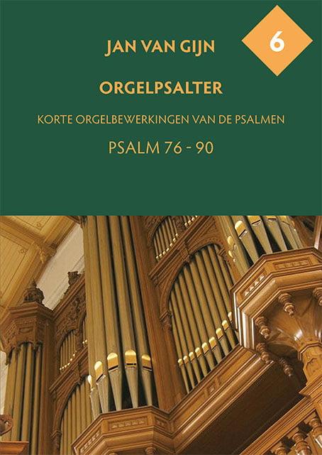 Jan van Gijn Orgelpsalter 6 Omslag