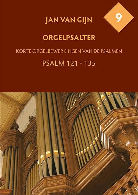 Jan van Gijn Orgelpsalter 9 Omslag