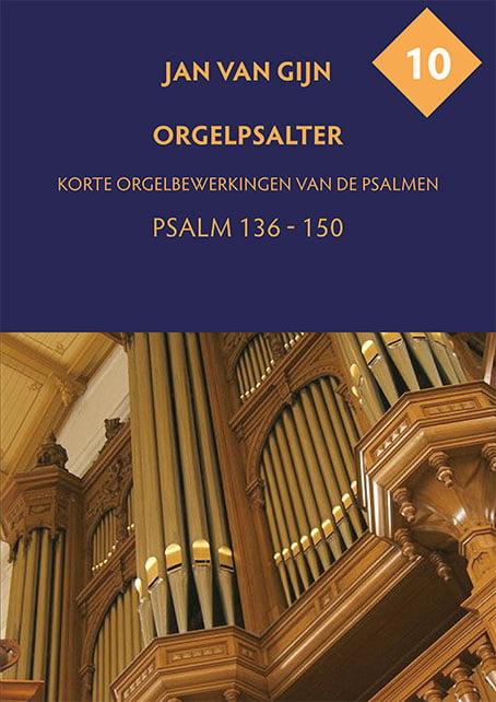 Jan van Gijn Orgelpsalter 10 Omslag