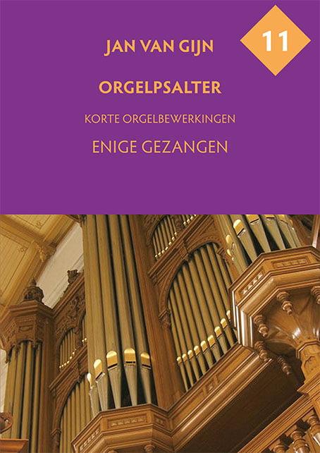 Jan van Gijn Orgelpsalter 11 Omslag