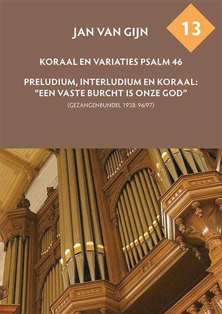 Jan van Gijn – Psalm 46 & Een vaste burcht Omslag