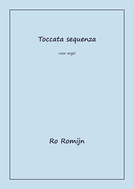 Romijn Toccata sequenza Omslag
