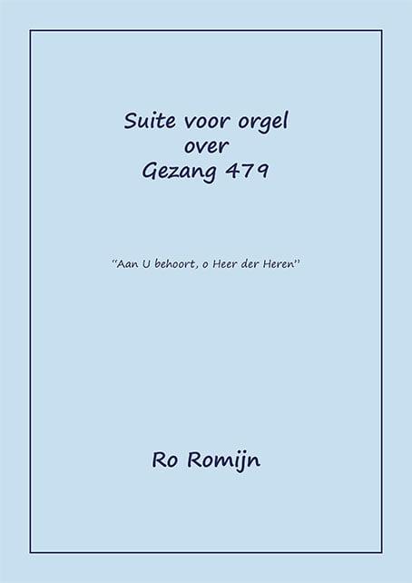 Romijn Suite Gez 479 Omslag