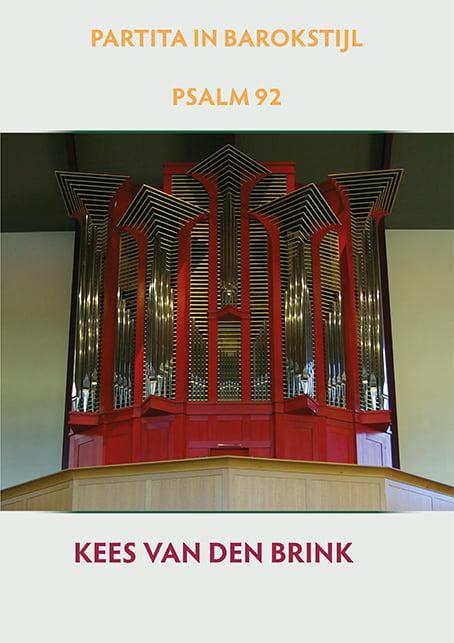 Kees van den Brink Psalm 92 Omslag
